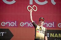 Primoz Roglic (SVK/Jumbo-Visma) finishes 3rd overall <br /> <br /> Stage 21 (ITT): Verona to Verona (17km)<br /> 102nd Giro d'Italia 2019<br /> <br /> ©kramon