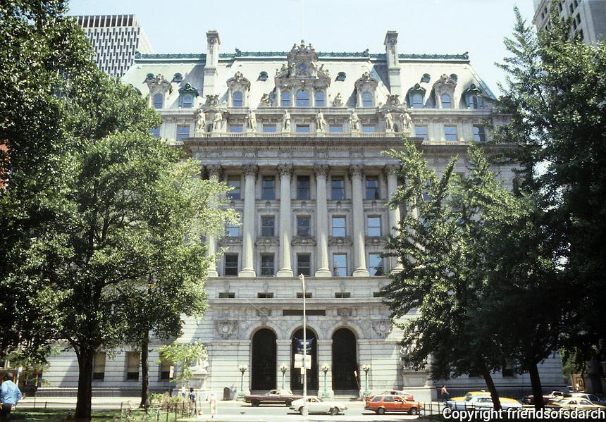 New York: Surrogate's Court, near City Hall, 1911. John R. Thomas, Horgan & Slattery. 31 Chambers St. Photo '85.