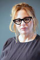 Teresa Ciabatta, nata ad Orbetello il 5 maggio del 1972 sotto il segno del Toro, Teresa Ciabatti è una scrittrice e sceneggiatrice italiana. Con il suo romanzo . Mantova, 11 settembre 2021. Photo by Leonardo Cendamo/Getty Images