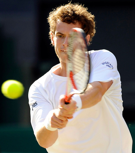 30TH JULY 2008, WIMBLEDON, FOURTH ROUND, ANDY MURRAY PLAYING AGAINST RICHARD GASQUET ON CENTRE COURT, ROB CASEY PHOTOGRAPHY
