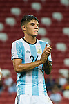 Carlos Correa of Argentina gestures during the International Test match between Argentina and Singapore at National Stadium on June 13, 2017 in Singapore. Photo by Marcio Rodrigo Machado / Power Sport Images