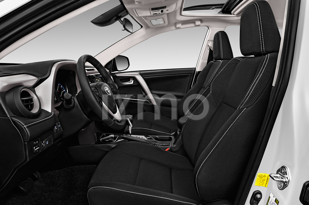 Front seat view of a 2018 Toyota RAV4 Adventure 5 Door SUV front seat car photos
