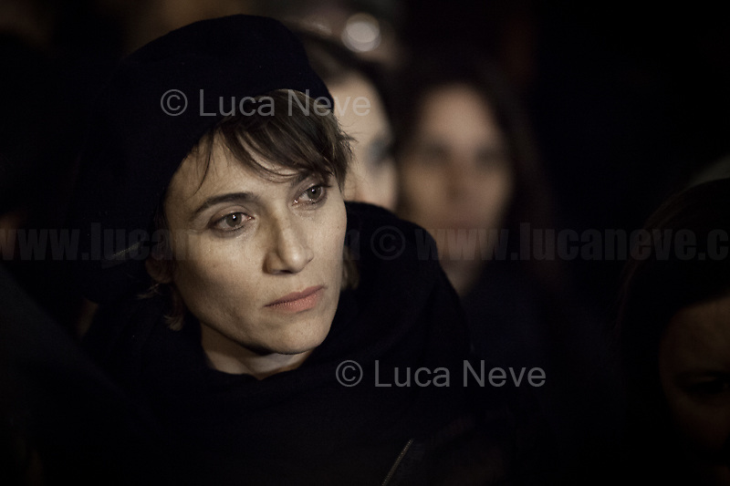 Anna, Actress.<br /> <br /> Rome, 01/05/2019. This year I will not go to a MayDay Parade, I will not photograph Red flags, trade unionists, activists, thousands of members of the public marching, celebrating, chanting, fighting, marking the International Worker's Day. This year, I decided to show some of the Workers I had the chance to meet and document while at Work. This Story is dedicated to all the people who work, to all the People who are struggling to find a job, to the underpaid, to the exploited, and to the people who work in slave conditions, another way is really possible, and it is not the usual meaningless slogan: MAKE MAYDAY EVERYDAY!<br /> <br /> Happy International Workers Day, long live MayDay!