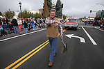 Congressman Mark Amodei walks in the annual Nevada Day parade in Carson City, Nev. on Saturday, Oct. 29, 2016. <br />Photo by Cathleen Allison