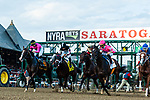 #2 Tax wins the Jim Dandy ridden by Irad Ortiz Jr. July 27, 2019 durinacing at Saratoga Race Course in Saratoga Springs New York  Robert Simmons/Eclipse Sportswire/CSM