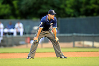 July 15, 2009:  Umpire Shaun Francis during the 2009 Eastern League All-Star game at Mercer County Waterfront Park in Trenton, NJ.  Photo By David Schofield/Four Seam Images