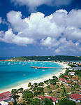 Anguilla, BWI<br /> View of Road Bay and Sandy Ground area on Anguilla's northwest coast