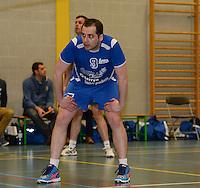 Knack Roeselare B - Doskom Moorslede : Jordi Declercq ; passeur bij Doskom 2<br /> foto VDB / BART VANDENBROUCKE