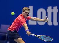 Rotterdam, Netherlands, December 15, 2016, Topsportcentrum, Lotto NK Tennis,  Bart Stevens (NED) <br /> Photo: Tennisimages/Henk Koster