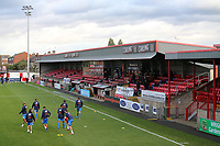 General view of the ground during Dagenham & Redbridge vs Wealdstone, Vanarama National League Football at the Chigwell Construction Stadium on 10th October 2020