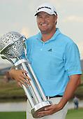 PRETORIA, SOUTH AFRICA MARCH 03 - Dawie van der Walt of South Africa winner of the Tswane Open Golf Tournament held at , The Els Club, Copper Leaf, in Centurion...Photo: Catherine Kotze/SASPA