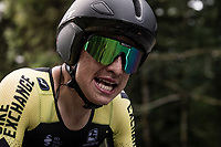 Esteban Chaves (COL/Mitchelton-Scott) on the steep parts of the individual time trial up the infamous Planche des Belles Filles<br /> <br /> Stage 20 (ITT) from Lure to La Planche des Belles Filles (36.2km)<br /> <br /> 107th Tour de France 2020 (2.UWT)<br /> (the 'postponed edition' held in september)<br /> <br /> ©kramon