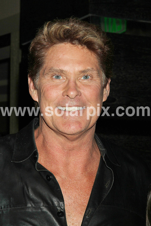 **ALL ROUND PICTURES FROM SOLARPIX.COM**.**SYNDICATION RIGHTS FOR UK, AUSTRALIA, DENMARK, PORTUGAL, S. AFRICA, SPAIN & DUBAI David Hasselhoff Appears at Planet Hollywood in Las Vegas, NV, USA, 19 March 2010.This pic: David Hasselhoff .JOB REF: 10949    PHZ  prn DATE: 19_03_2010.**MUST CREDIT SOLARPIX.COM OR DOUBLE FEE WILL BE CHARGED**.**MUST NOTIFY SOLARPIX OF ONLINE USAGE**.**CALL US ON: +34 952 811 768 or LOW RATE FROM UK 0844 617 7637**
