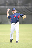 March 20th 2008:  Jason Michaels of the Cleveland Indians during a Spring Training game at Chain of Lakes Park in Winter Haven, FL.  Photo by:  Mike Janes/Four Seam Images