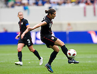 Ali Krieger. The USWNT defeated Mexico, 1-0, during the game at Red Bull Arena in Harrison, NJ.
