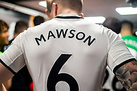Alfie Mawson of Swansea City shirt <br /> Re: Behind the Scenes Photographs at the Liberty Stadium ahead of and during the Premier League match between Swansea City and Bournemouth at the Liberty Stadium, Swansea, Wales, UK. Saturday 25 November 2017