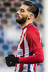 Yannick Ferreira Carrasco of Atletico de Madrid reacts during their Copa del Rey 2016-17 Quarter-final match between Atletico de Madrid and SD Eibar at the Vicente Calderón Stadium on 19 January 2017 in Madrid, Spain. Photo by Diego Gonzalez Souto / Power Sport Images