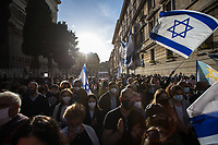 12.05.2021 - Demo in Support And Solidarity With Israel In Rome's Jewish Ghetto