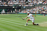 Lawn Tennis - 2021 All England Championships - Week Two - Friday - Wimbledon Mens Semi Final - Matteo Berrettini v Hubert Hurkacz Matteo Berrettini of Italy PUBLICATIONxNOTxINxUK <br /> Wimbledon Tennis <br /> Photo Imago/Insidefoto <br /> ITALY ONLY