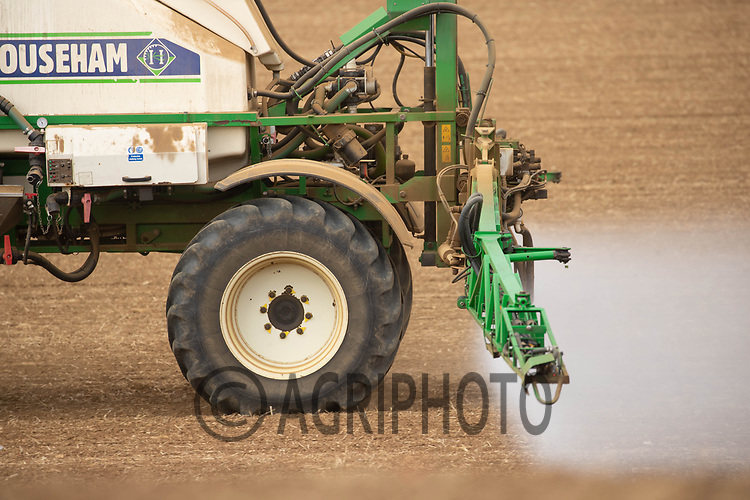 25-9-2021 Pre emergence spraying on Winter barley<br /> ©Tim Scrivener Photographer 07850 303986<br />      ....Covering Agriculture In The UK....
