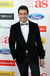 Carlos Rivera poses during AS Sport Female Awards ceremony in Madrid, Spain. December 15, 2014. (ALTERPHOTOS/Victor Blanco)