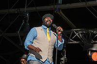 Gregory Porter sur la scène de Rock en Seine à Saint Cloud le dimanche 28 août 2016