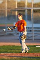 Jesse Guevara (54), from San Francisco, California, while playing for the Orioles during the Under Armour Baseball Factory Recruiting Classic at Gene Autry Park on December 27, 2017 in Mesa, Arizona. (Zachary Lucy/Four Seam Images)