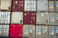 - Genoa, terminal containers....- Genova, terminal containers