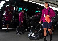 11th October 2020; Sky Stadium, Wellington, New Zealand;  All Blacks Caleb Clarke. New Zealand All Blacks v Australia Wallabies, 1st Bledisloe Cup rugby union test match