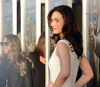 Emmy Rossum @ the premiere of 'Keanu' held @ the Cinerama Dome theatre.<br /> April 27, 2016