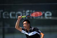 Chris WeiShang Zhang. 2019 Wellington Tennis Open at Renouf Centre in Wellington, New Zealand on Thursday, 19 December 2019. Photo: Dave Lintott / lintottphoto.co.nz