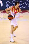 Liga ACB-ENDESA 2020/2021. Game: 26.<br /> FC Barcelona vs Casademont Zaragoza: 107-88.<br /> Nicolas Brussino.