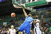 Dunking Ekenechukwu Ibekwe (Fraport Skyliners) - 08.112016: Fraport Skyliners vs. CEZ Nymburk, BCL, Fraport Arena Frankfurt