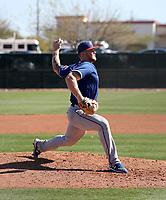 Josh Smith - Texas Rangers 2019 spring training (Bill Mitchell)