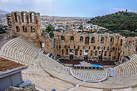 Photograph of the Acropolis stadium in Athens Greece.