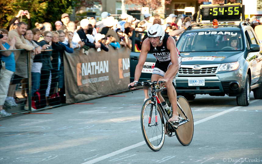 Highlight Photographs of the 2011 Canadian Ironman in Penticton, British Columbia.