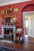 BNPS.co.uk (01202) 558833. <br /> Pic: Duke's/BNPS<br /> <br /> Pictured: The Etchings Room at Wormington Grange. <br /> <br /> The lavish contents of one of Britain's most beautiful stately homes have sold for almost £2million after capturing high society's imagination.<br /> <br /> Over 1,600 items were auctioned off from Wormington Grange, a neoclassical mansion in the Cotswolds, during the hotly contested three-day sale.<br /> <br /> The sale included what the auctioneers described as the 'most important' collection of country house furniture to emerge on the market for decades.