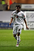 Pictured: Gorka Pintado of Swansea City in action<br /> Picture by D Legakis / Athena Picture Agency, Swansea, 07815441513
