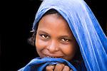 Touareg woman in Ouagadougou, Burkina Faso.