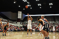 STANFORD, CA - NOVEMBER 1:  Grace Mashore of the Stanford Cardinal during Stanford's 107-49 win over Vanguard on November 8, 2009 at Maples Pavilion in Stanford, California.