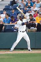 July 4, 2009: Everett AquaSox outfielder Ryan Royster at-bat during a Northwest League game against the Yakima Bears at Everett Memorial Stadium in Everett, Washington.