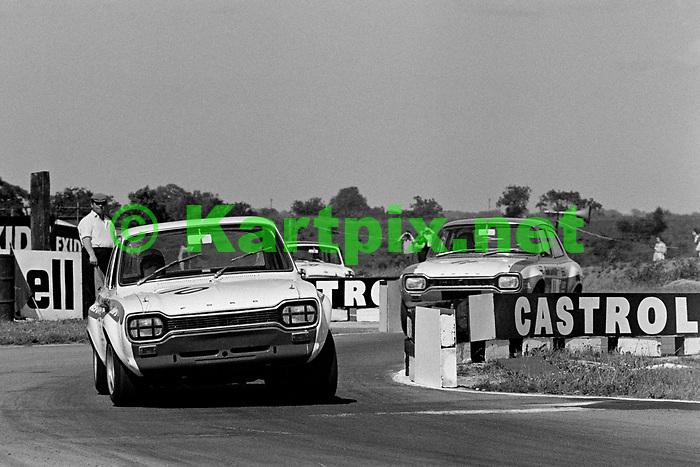 Mike Crabtree, British touring cars Croft 1969.