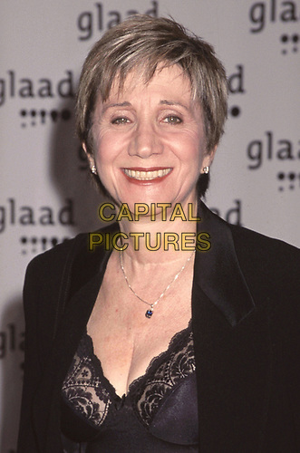 Olympia Dukakis attends The 10th Annual GLAAD Media Awards Gala at New York Hilton Midtown in New York City on March 28, 1999.  <br /> CAP/MPI/HM<br /> ©HM/MPI/Capital Pictures