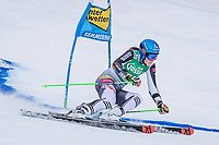 28th December 2020; Semmering, Austria; FIS Womens Giant Slalom World Cu Skiing;  Petra Vlhova of Slovakia in action during her 1st run of women Giant Slalom of FIS ski alpine world cup at the Panoramapiste in Semmering