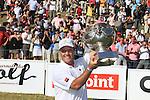 Alstom Open de France 2011 final Day Winner