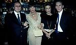 CARLA DE MARTINO , ELSA MARTINELLI, BERTHOLD VON STOHRER E GIANNI DEI<br /> COMPLEANNO ELSA MARTINELLI AL JEFF BLYNN'S   ROMA 2000