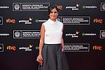 Elena Sanchez poses before 63rd Donostia Zinemaldia opening ceremony (San Sebastian International Film Festival) in San Sebastian, Spain. September 18, 2015. (ALTERPHOTOS/Victor Blanco)