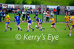 Action from Ballymac v Annascaul in Division 2b of the County Football League