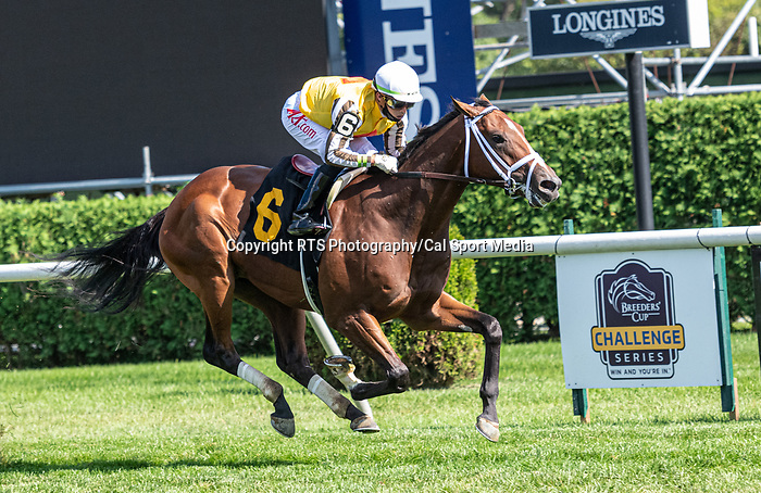 09042021:#6 Annapolis ridden by Irad Ortiz Jr.. trained by Todd Pletcher wins race 6 on The JOCKEY GOLD CUP day at Saratoga<br /> Robert Simmons/Eclipse Sportswire