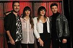 Spanish singers Rozalen, Blas Canto, Aitana Ocana and Beret attend La Voz Kids Atresmedia Presentation in Madrid on Frebary 12, 2020 in Madrid, Spain.(ALTERPHOTOS/ItahisaHernandez)